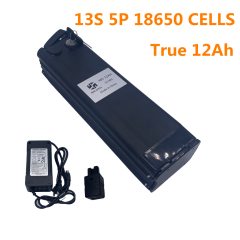 B 48V12AH LI-ION BATTERY (WITH CASE AND 3A CHARGER)