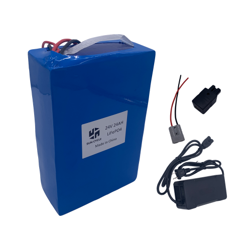 24V24AH LIFEPO4 32650 BATTERY (WITH 5A CHARGER)