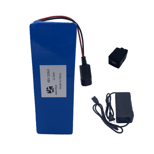 48V10AH Li-ion BATTERY (WITH 3A CHARGER)