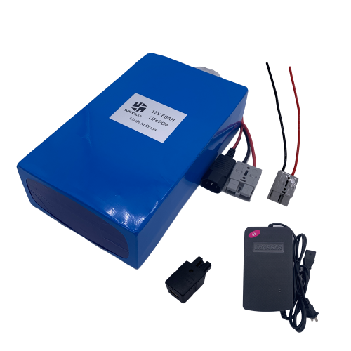 12V60AH LIFEPO4 BATTERY (WITH 10A CHARGER)